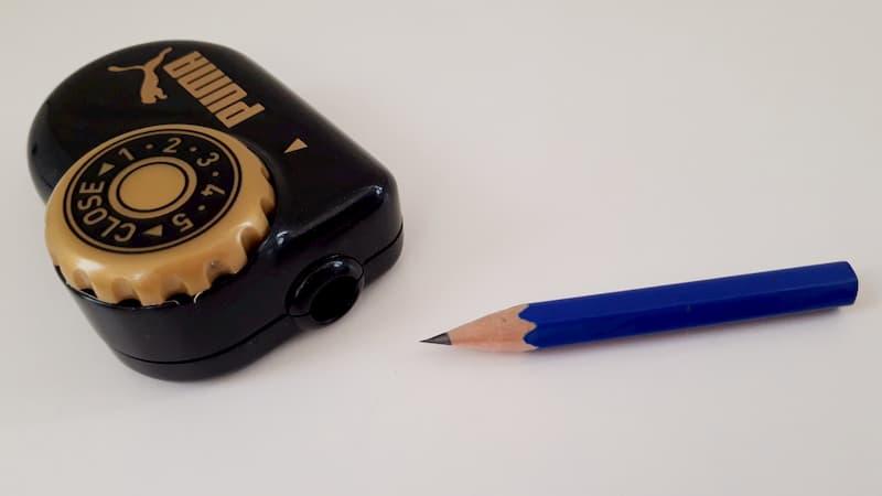 トガールで鉛筆を削ってみた