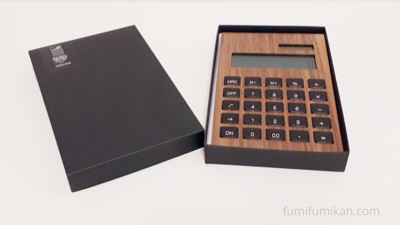 箱入りHacoa電卓