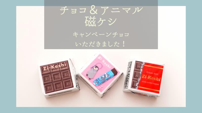 新発売チョコ&アニマル磁ケシ タイトル