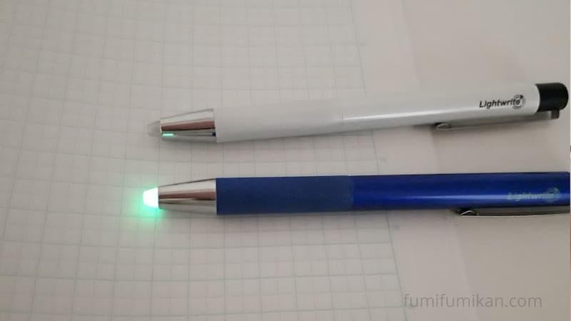 ライトライトαペン先蓄光材入り
