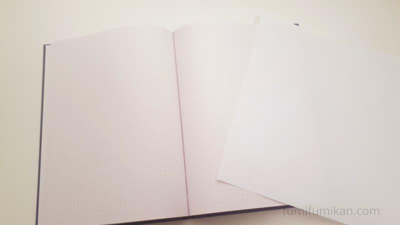 HONceptの紙の色