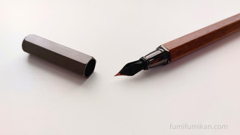 ハコア 万年筆 ペン先裏